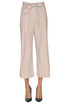 Cropped cotton trousers Seventy 19.70