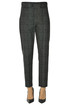 Checked print trousers D.Exterior