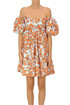 Flower print cotton dress Gina Gorgeous