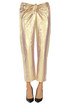 Striped Metallic effect trousers Forte_Forte