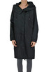 Techno fabric parka coat Jil Sander