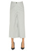 Cropped cotton trousers Semicouture