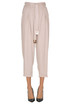 Cropped lyocell trousers Elisabetta Franchi