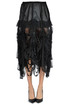 Pleated crepè skirt with cut-out Maison Margiela