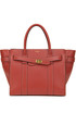 Zipped Bayswater leather bag Mulberry