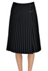 Pleated wraparound skirt Fay