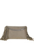 Fringed suede clutch Carditosale