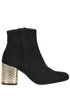 Suede ankle boots Helia