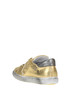 Metallic effect leather sneakers 2Star