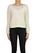 Jewel application cashmere pullover Ermanno Scervino