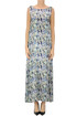 Flower print silk dress Monika Varga