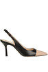 Leather slingback pumps Marc Ellis