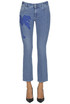 Embroidered jeans Stella McCartney