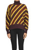 Striped turtleneck pullover Marni