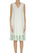 Linen and cotton double dress Fabiana Filippi
