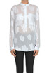 Embroidered silk blouse Dondup