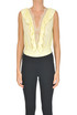 Slik body with lace Elisabetta Franchi
