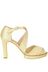 Satin platform sandals Repetto