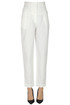 Linen and cotton trousers  Philosophy di Alberta Ferretti