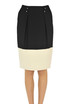 Two-coloured pencil skirt Elisabetta Franchi