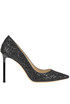 Romy glittered leather pumps Jimmy Choo