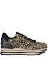 Animal print suede sneakers Janet Sport