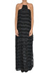 Fringed long dress Patrizia Pepe
