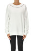 Oversized cotton sweatshirt Maison Margiela