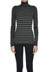 Striped turtleneck pullover Brunello Cucinelli
