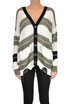 Striped knit cardigan Patrizia Pepe