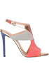 Color-block sandals Pollini