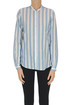 Striped cotton shirt Massimo Alba