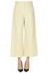 Cropped cotton trousers Jil Sander