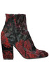 Embroidered ankle-boots Strategia