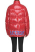 Saturday eco patent-leather down jacket Alberta Ferretti