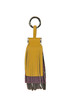 Soft trio leather charm Orciani