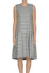 Checked print dress Erika Cavallini