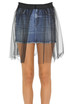 Denim mini skirt Dondup