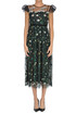 Embroidered tulle dress RED Valentino