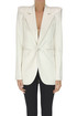 Satin blazer Saint Laurent