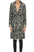 Animal print knit coat Nenette
