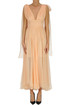 Pleated silk dress Maria Lucia Hohan