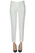 Cotton slim trousers Michael Michael Kors