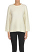 Rounded neckline pullover Bruno Manetti