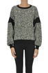 Animal print sweatshirt PHILOSOPHY di Lorenzo Serafini