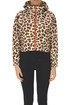 Cropped animal print jacket Bellerose
