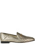 Loraine metallic effect leather loafers Sam Edelman