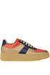 Colour block satin sneakers Maison Margiela