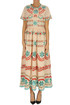 Embroidered cotton dress RED Valentino