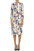 Flower print viscose dress Bellerose